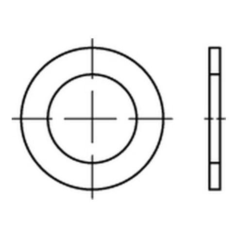 DIN 988 Federstahl 16 x 22 x 1,5 Stützscheiben K