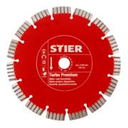 Disque diamant STIER Turbo Premium Ø 400 mm, perçage 20/25,4 mm