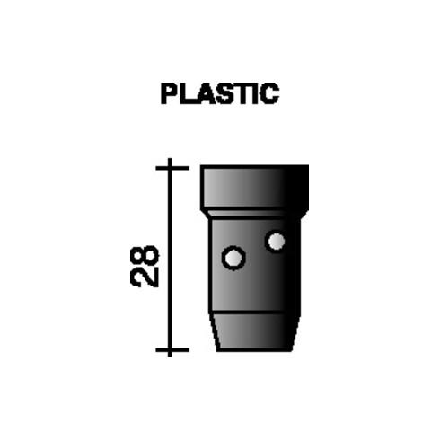 Distributeur de gaz noir 28 mm pour ERGOPLUS 400/501 TRAFIMET