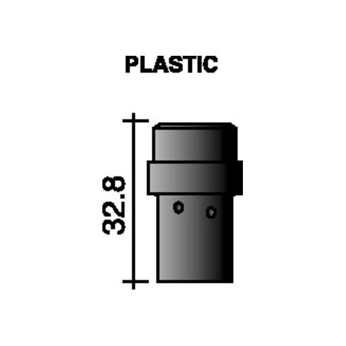 Distributeur de gaz noir 32 mm pour ERGOPLUS 36 TRAFIMET