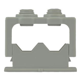 Don Quichotte ISO Greifschelle für 2 Leitungen, 6 - 16 mm