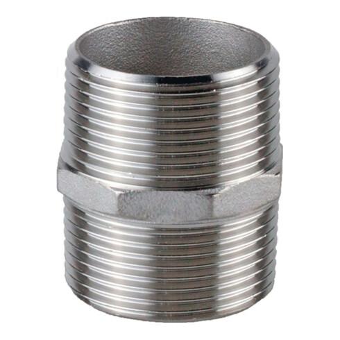 Doppelnippel NPS=1/4 Zoll 6-kant L 29mm SPRINGER