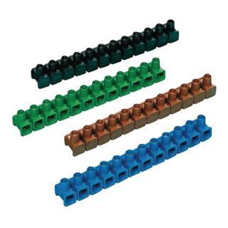Dosenklemmleiste 12polig abschneidbar 2,5-6mm2 m.Schrauben