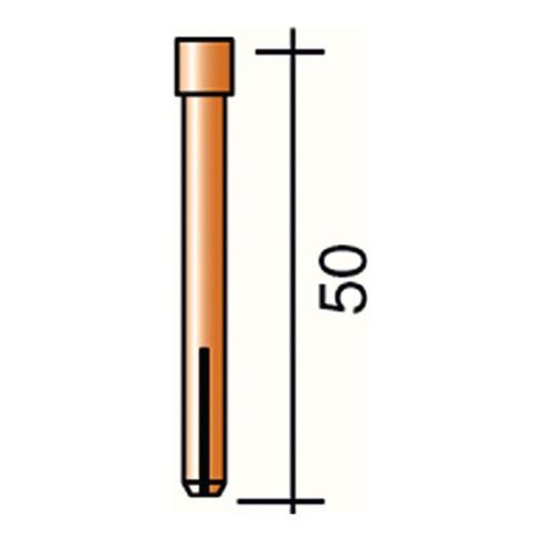 Douille de serrage D. 1,6 mm L. 50 mm adapté à ERGOTIG SR17/18 TRAFIMET