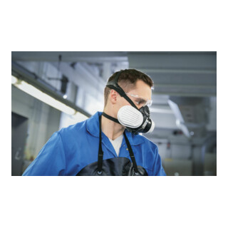 Dräger X-pect 8321 Schutzbrille, grau