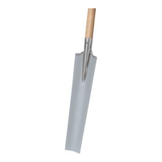 Drainierspaten GLORIA Gr. 2 550x125/90mm,mit Trittschutz 2300 g IDEAL