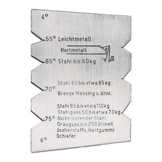 Drehstahllehre HM-Drehmeißel FORMAT