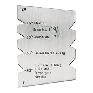 Drehstahllehre HSS-Drehmeißel FORMAT