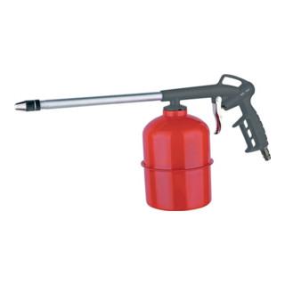 Druckluft-Sprühpistole Leichtmetall/1l /Behälter aus Stahl