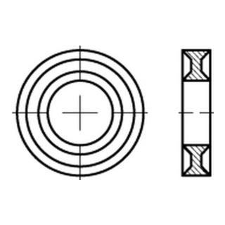 Dubo-Profil-Scheiben 205 f. Sk.-Schrauben M 10 S