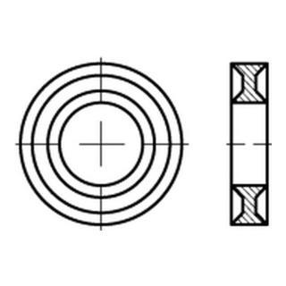 Dubo-Profil-Scheiben 303 f. Zylinderschrauben M 8 S