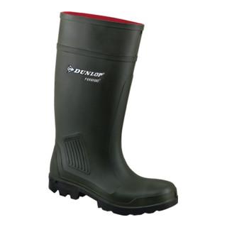 Dunlop Gummi-Sicherheitsstiefel Purofort Professional, S5 CI dunkelgrün