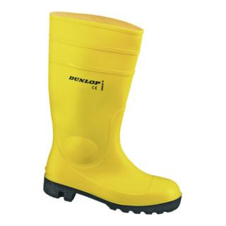 Dunlop Protomaster Gummistiefel gelb