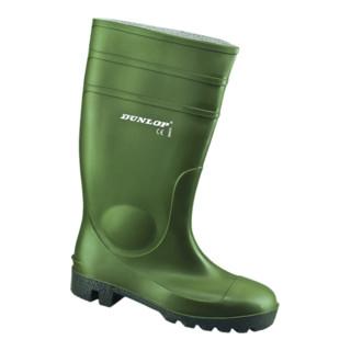 Dunlop Protomaster Gummistiefel grün