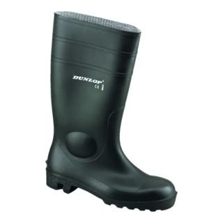 Dunlop Protomaster Gummistiefel schwarz