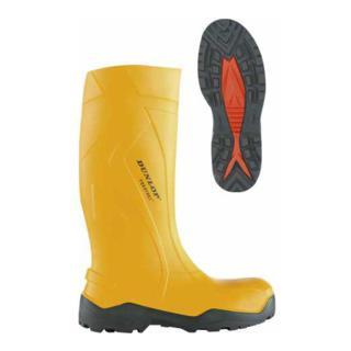 Dunlop Sicherheitsstiefel PUROFORT®+, S5 CI gelb