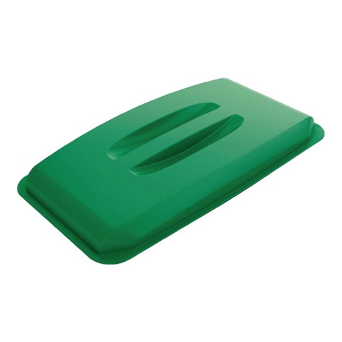 Durable Deckel für Wertstoffsammler 60l grün m.Griffen B555xT285mm