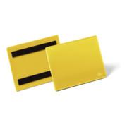 Durable Magnetische Kennzeichnungstasche A6 quer