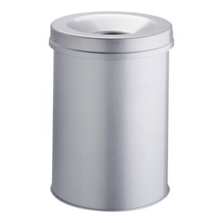 Durable Papierkorb safe rund Grau 30l
