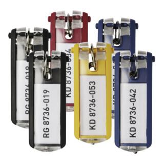 Durable Schlüsselanhänger KEY CLIP, 24 Stück