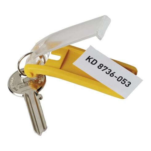 Durable Schlüsselanhänger KEY CLIP Gelb