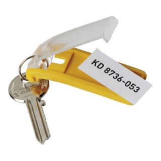 Durable Schlüsselanhänger Key Clip schwarz Ku.