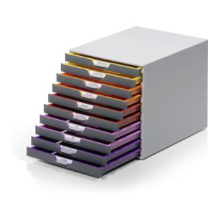 Durable Schubladenkasten Varicolor 10 Schübe