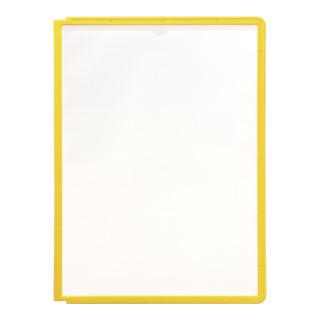 Durable Sichttafel SHERPA A4 Gelb