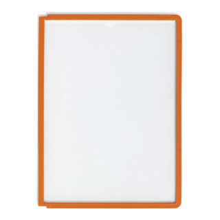 Durable Sichttafel SHERPA A4 Orange