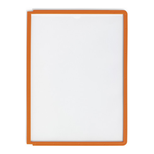 Durable Sichttafel SHERPA A4 Orange
