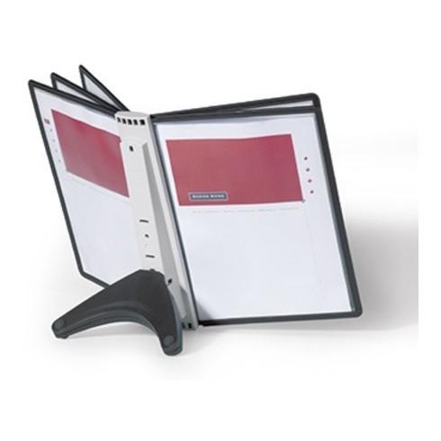 DURABLE Sichttafelständer SHERPA Soho 5 554001 DIN A4 schwarz