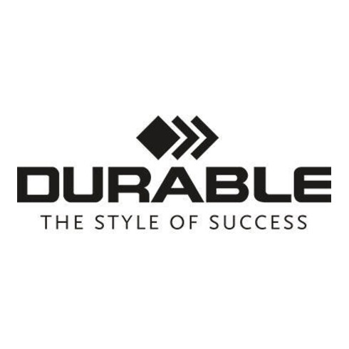 DURABLE Türschild CRYSTAL SIGN 482319 210x148mm transparent