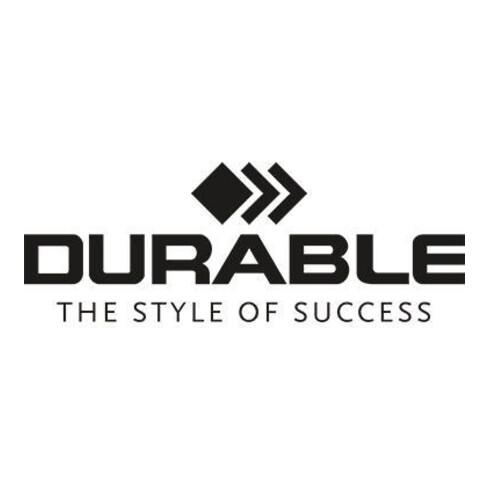 DURABLE Türschild INFO SIGN 480023 149x52,5mm metallic silber