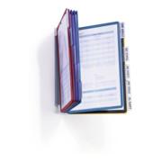 Durable Wandhalter VARIO Displ.-Syst. Wall 10 Sichttafeln