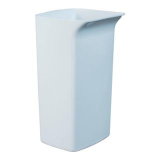 Durable Wertstoffsammler 40l weiß Kunststoff H590xB320xT360mm