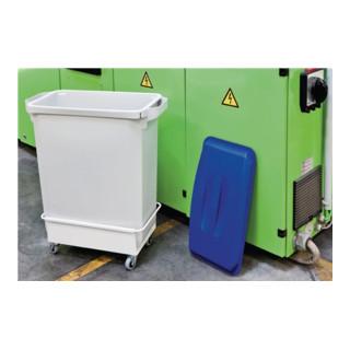 Durable Wertstoffsammler 60l grau H600xB280xT590mm
