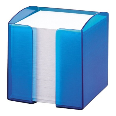 DURABLE Zettelbox TREND 1701682540 gefüllt 90x90mm PS tr bl