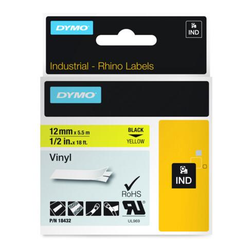DYMO IND Etikettenband Vinyl