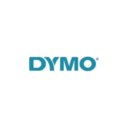 Dymo Schriftband B.12mm/L.7m sw auf transp.
