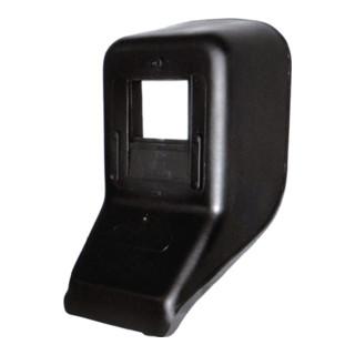 Écran de protection de vision avec verre DIN-9 et écran ext. 90 x 110 mm plastiq