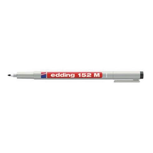 edding Folienschreiber 152 M 4-152001 non-permanent schwarz