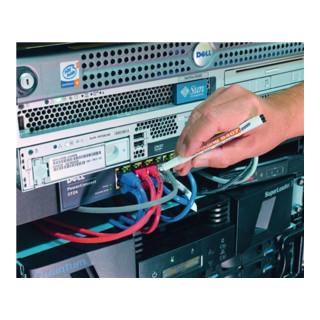 Edding Kabelmarkerset 8407 schwarz/rot/blau/grün Rundspitze Strichbreite 0,3mm