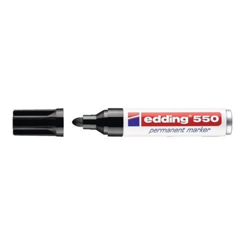 Edding Permanentmarker 800 schwarz Keilspitze Strichbreite 4-12mm