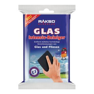 Edelstahlschwamm GlasPutzer 10x6cm m.Edelstahlwolle rostfrei 2er Packung