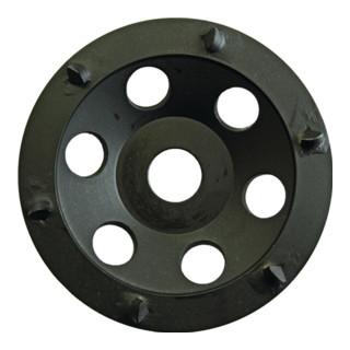 Eibenstock PKD-Schleifteller (schwarz,rund), Ø 125 mm, 6 PKD-S.