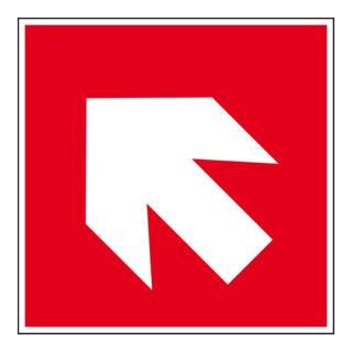 Eichner Brandschutzschild Richtungsangabe