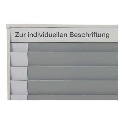 Eichner Planungstafel A4 für Baupläne 6 Schiene