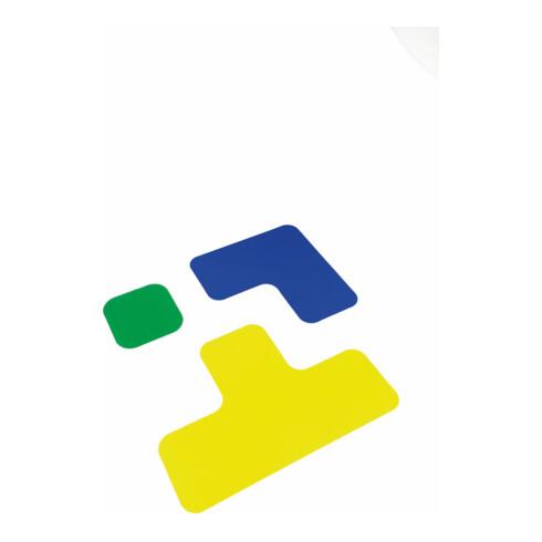 Eichner Stellplatzmarker L-Stück PVC