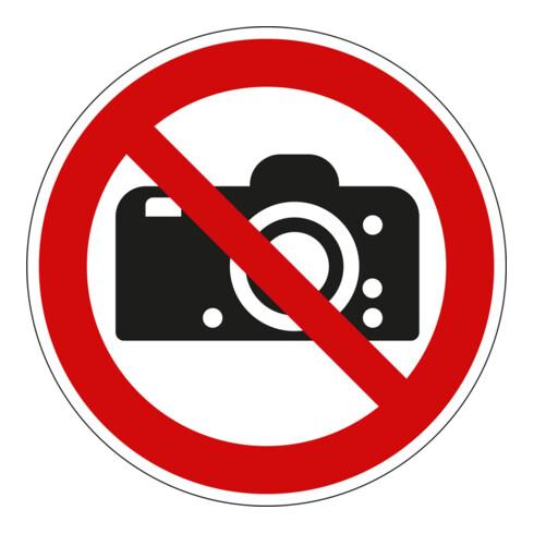 Eichner Verbotsschild Fotografieren verboten rot