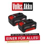 Einhell Akku 2x 18V 4,0Ah PXC-Twinpack